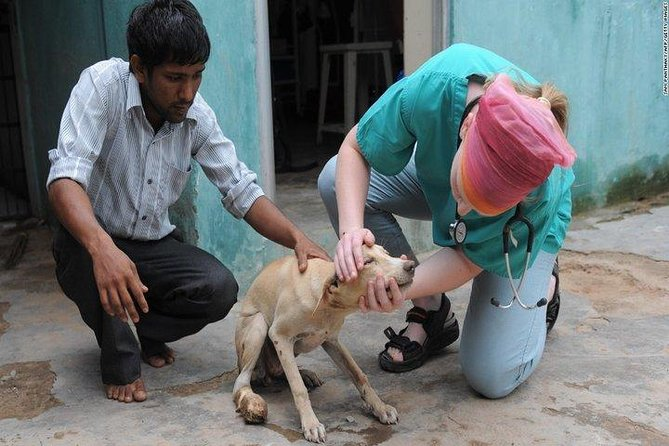 Animal Rehabilitation Center Visit with Taj Mahal Tour