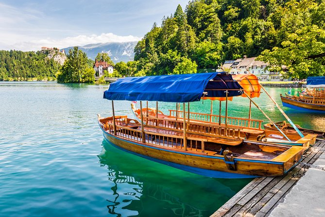 Lake Bled with Pletna Boat to Bled Island
