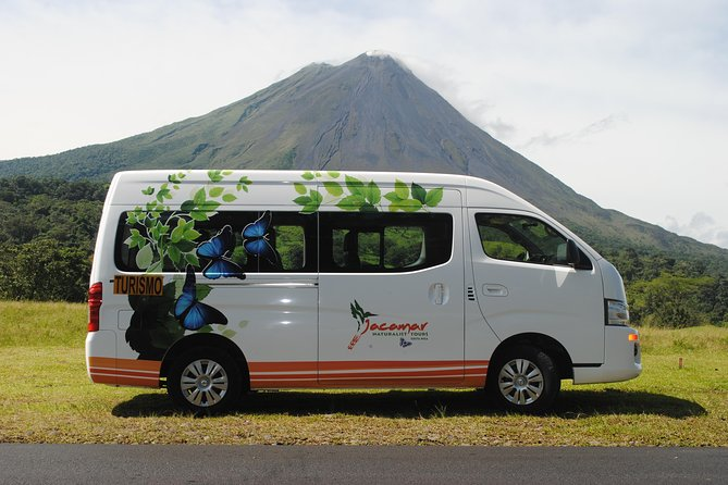 San Jose Airport Private Transfer to La Fortuna 1 to 5 People