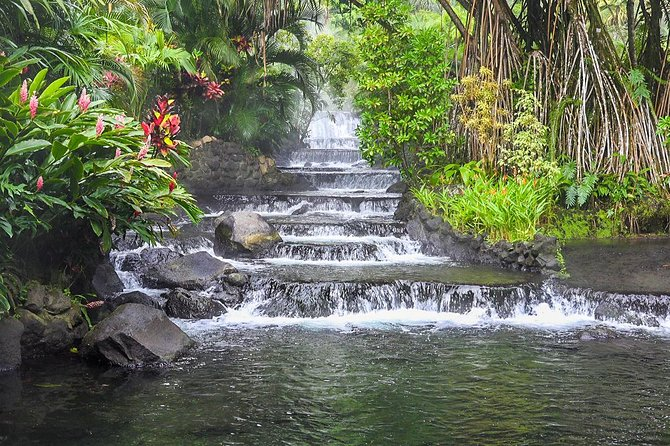 Combo Tour with Hanging Bridge,Waterfall,Volcano Hike and Tabacon Hot Springs photo 2