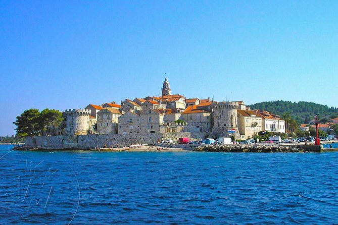 Korcula - Private Excursion from Dubrovnik with Mercedes Vehicle