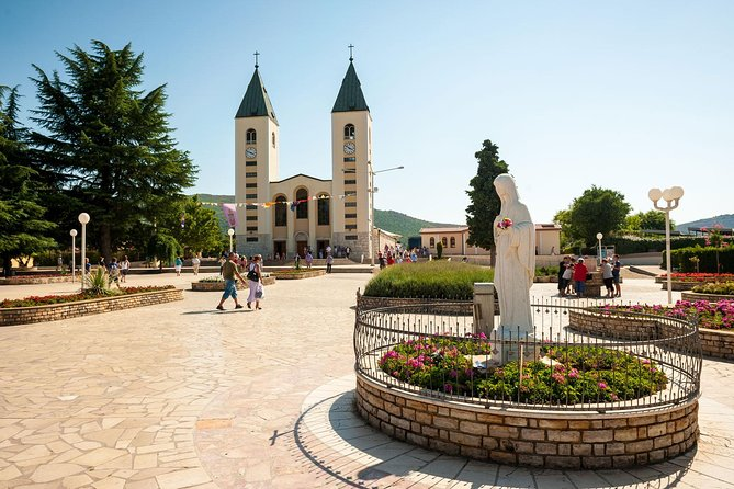 Medjugorje - Private Excursion from Dubrovnik with Mercedes Vehicle