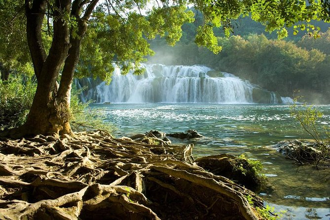 NP Krka Waterfalls Small Group Tour and Wine Tasting from Split or Trogir