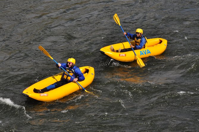 Inflatable Kayak Half-Day Excursion from Kremmling