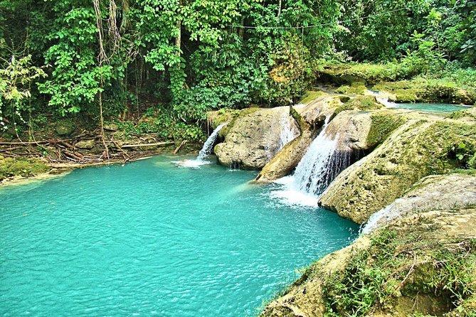 Excursão particular em Blue Hole e Secret Falls