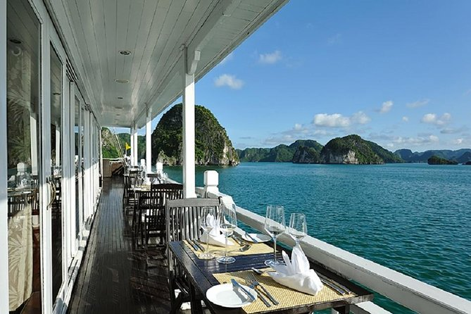5 Days 4 Nights Hanoi - Halong Bay - Peaceful Halong Bay Cruise, one of 7 world Wonders