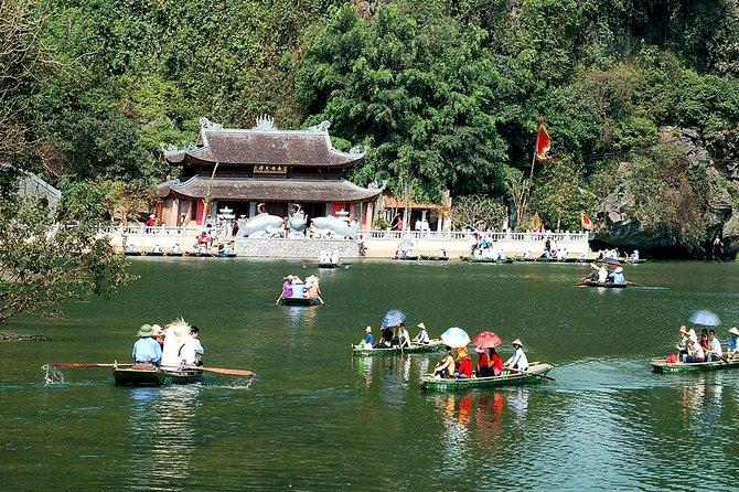 Hanoi- Asian Bai Dinh Biggest Pagoda and Trang An native land full day tour