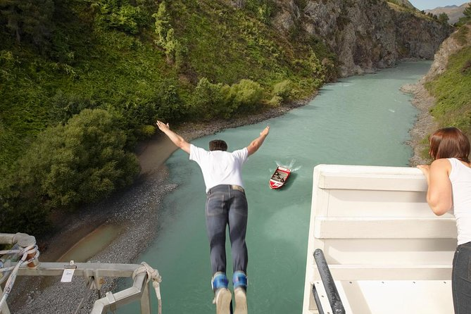 Hanmer Springs Rafting and Bungy Jump combo