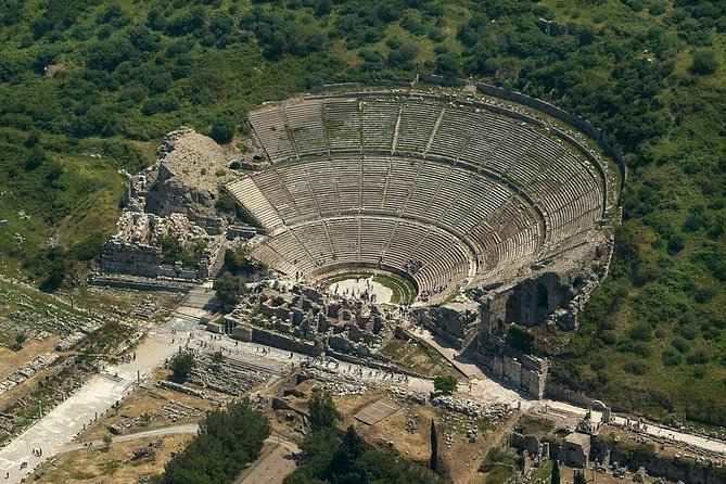 Private Guide and AC Transportation from Kusadasi to Ephesus