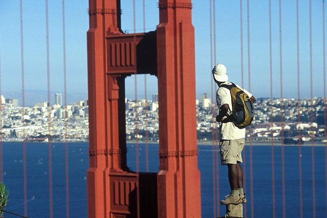 Walking Tour of the Sausalito Waterfront and Golden Gate Bridge Overlook