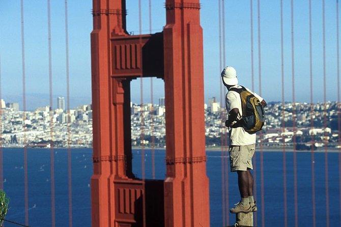 San Francisco From The Golden Gate Bridge Overlook
