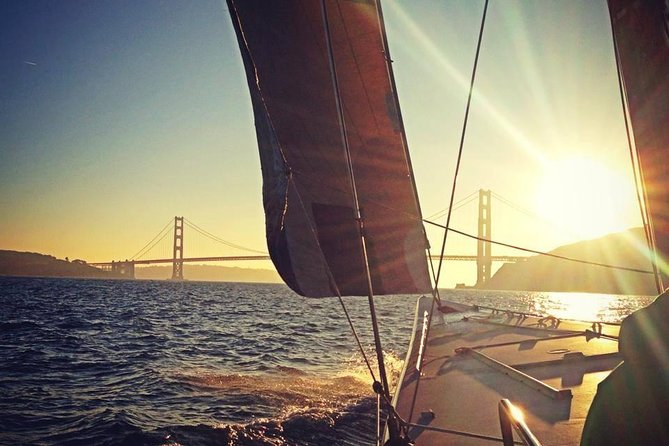 America's Cup Sunset Sailing Adventure on San Francisco Bay
