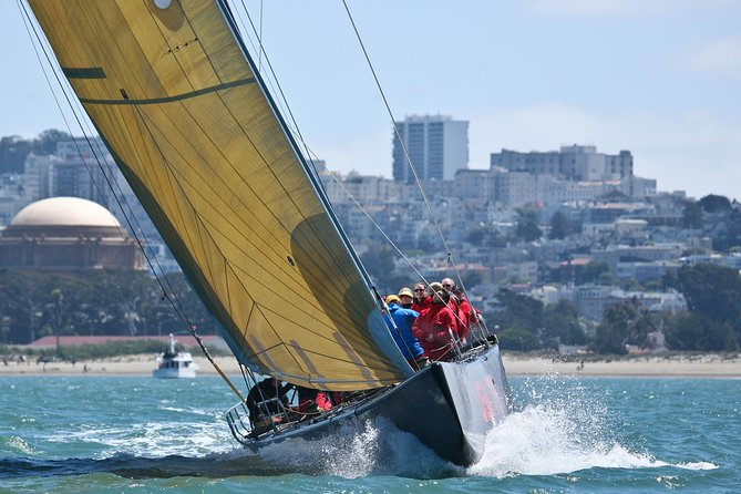 America's Cup Sailing Adventure on San Francisco Bay: Express Sail Image