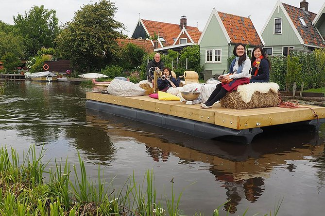 Half-Day Tour: Dutch Countryside on a Boat from Amsterdam
