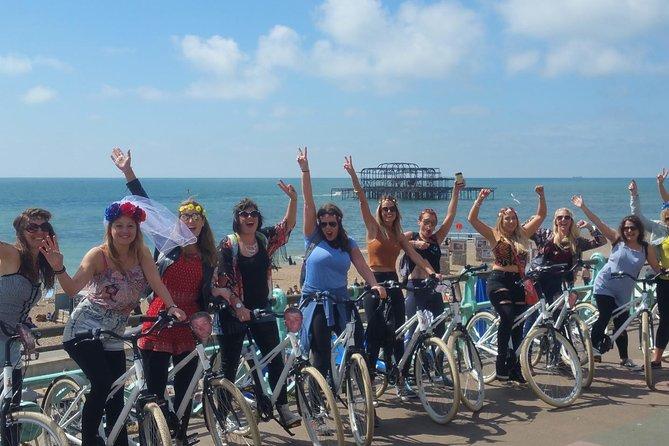 Hen Party Bike tours of Brighton