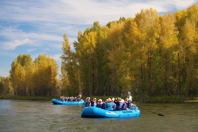 16-Mile Combo: Snake River-Scenic and Whitewater Trip