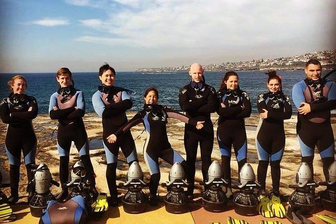 Small-Group Underwater Scooter Experience in Clovelly