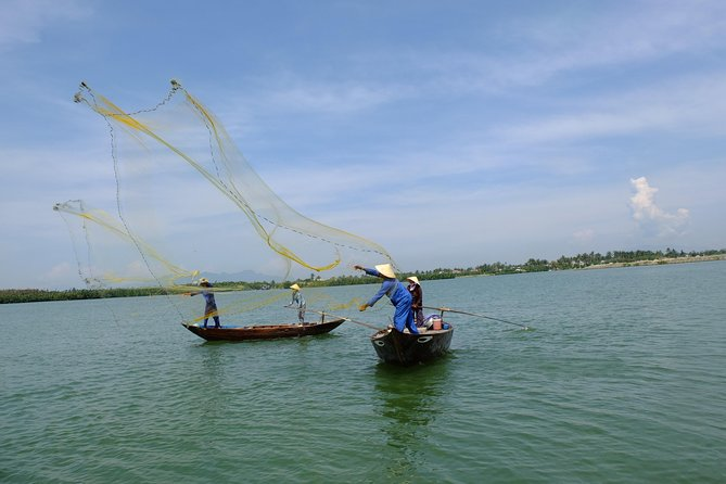 Basket Boat and Fishing Excursion from Hoi An