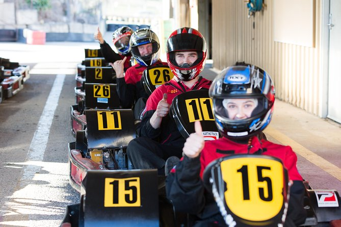 Go Karting 3x 15mins sessions for Adults & Teens from 14 years & up
