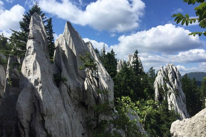 1 day White Rocks Wilderness - Vihoraski trail Hike from Zagreb