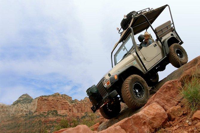 Extreme Sedona Off-Road Canyon Jeep Tour