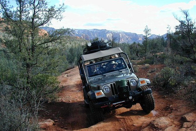 Diamondback Gulch 4x4 Open-Air Jeep Tour in Sedona