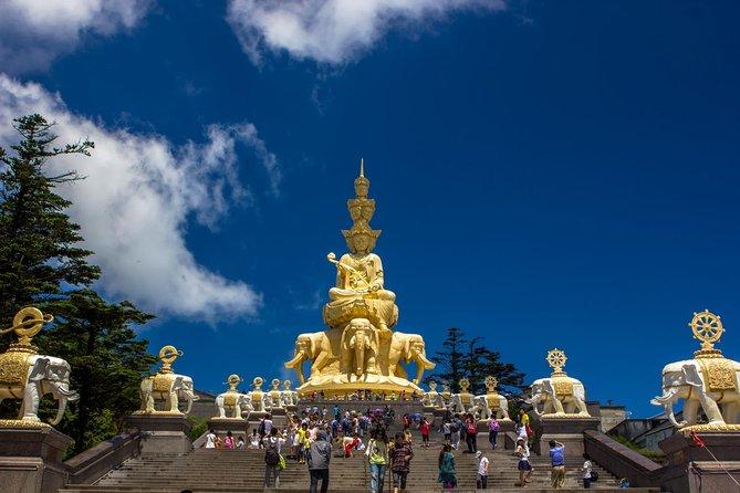 Chengdu Panda Leshan Buddha and Mount Emeishan 2 Days Tour