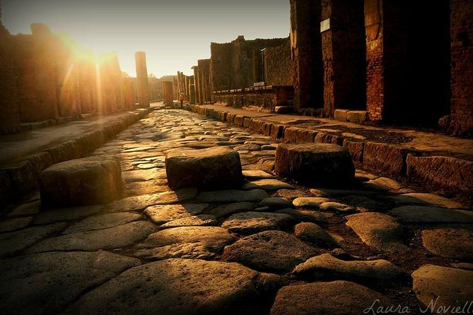 Pompeii private small group tour - 4 hours including transfers