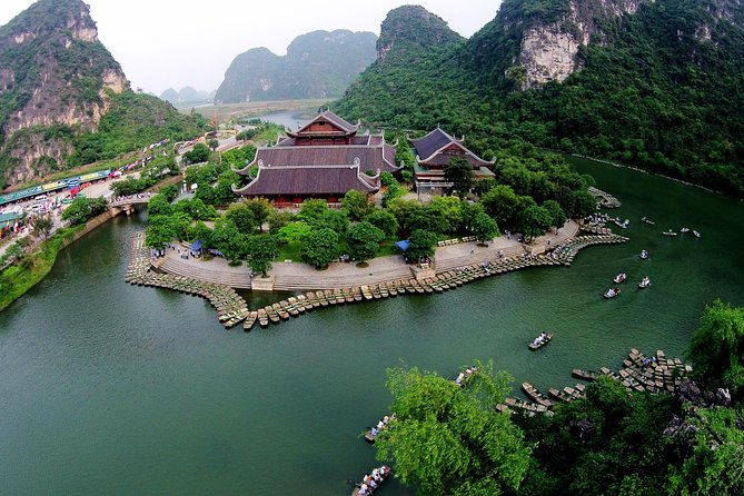Shore Excursion: Trang An Scenic Landscape Complex from Halong Bay Cruise Port