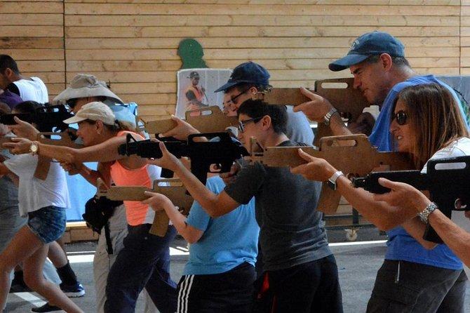 Tourist Program Training Shooting