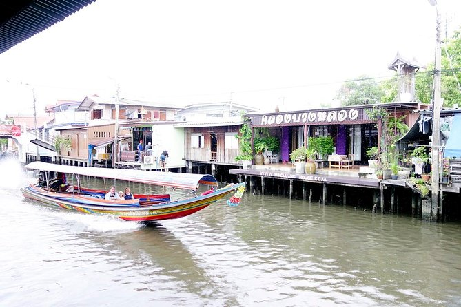 Private - Thonburi Canal Adventures Tour incl. Snack and Coffee