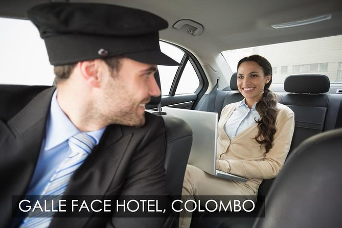 Colombo, Sri Lanka Airport (CMB) to Galle Face Hotel, Colombo