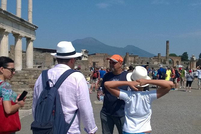 Pompeii private Tour from Sorrento with English Motherlanguage Historic Guide