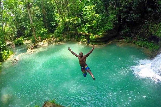 Secret Falls Blue Hole from Ocho Rios