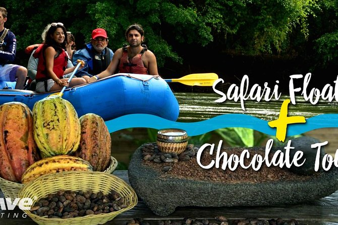 Half Day Nature Safari Float Tour and Chocolate Tour from La Fortuna-Arenal