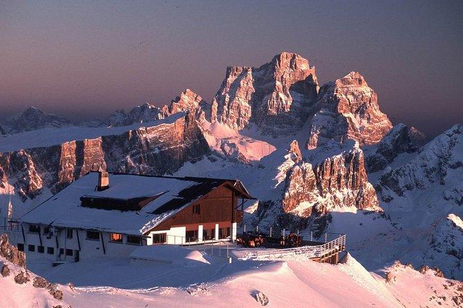 Dolomiti Ski Tour: Super 8 Lagazuoi and 5 Torri from Cortina d'Ampezzo