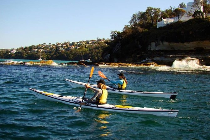 Self-Guided Sydney Middle Harbour Kayak 3 Hour Tour by Single Kayak