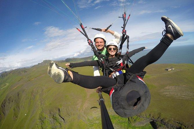 Tandem Paragliding Flights from Vik