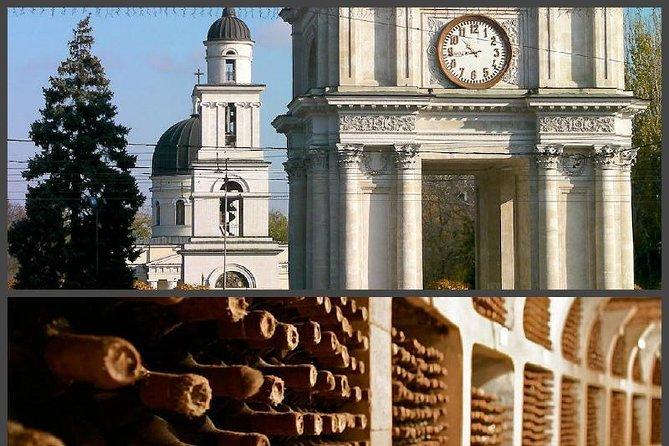 Chisinau City tour /Cricova winery