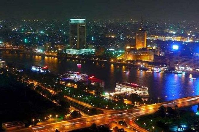 Dinner Cruise on the Nile with Belly Dancing Show from Cairo