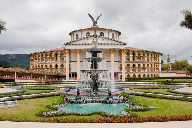 Private Jaime Duque Park Tour from Bogotá. Tickets, transportation, and food.