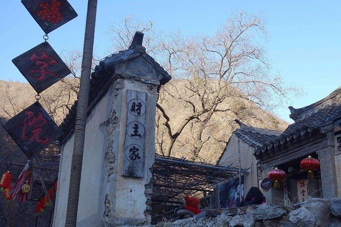 Cuandixia Village Private Transfer Service from Beijing