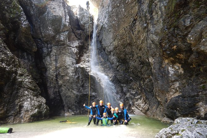 Canyoning in Fratarica Canyon