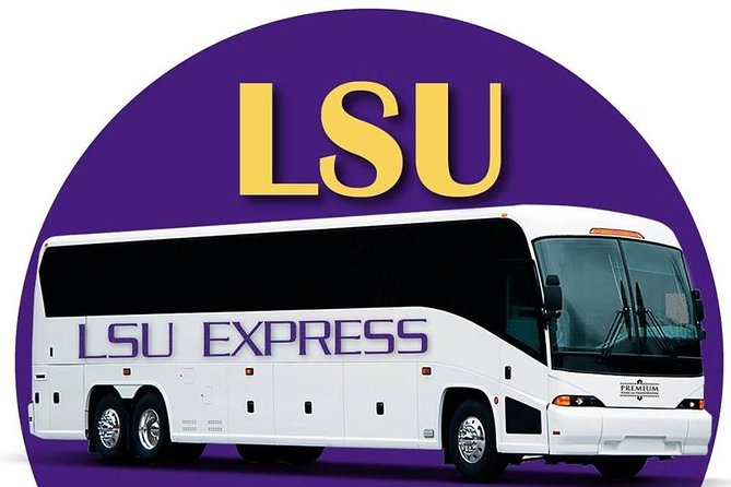 New Orleans to Baton Rouge: Round-trip Transportation for LSU vs Alabama