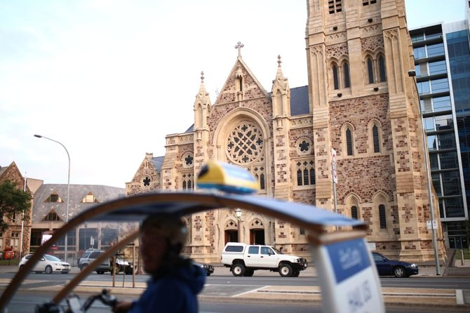 Historic Adelaide & Architecture 90- minute Pedicab Experience