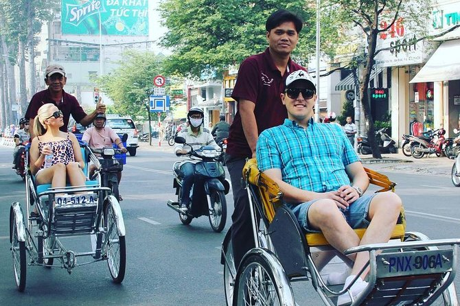 Half-Day Private Cyclo Tour Of Ho Chi Minh Highlights