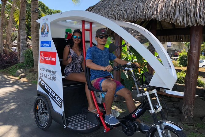 Electric Tuk-Tuk Cultural and Shopping Tour of Papeete photo 1