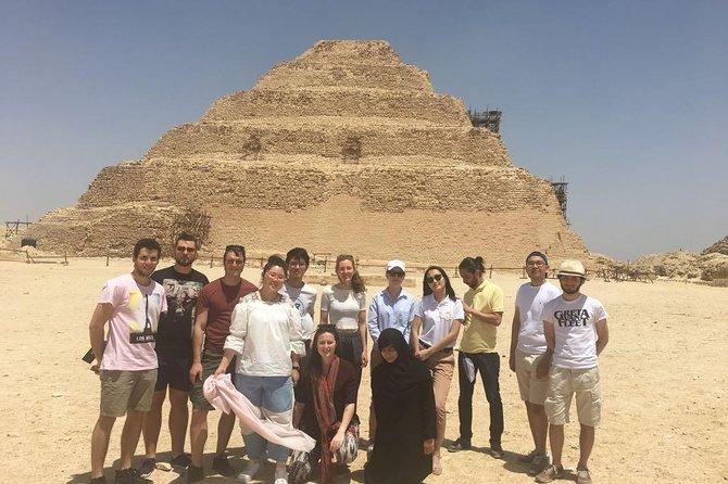 15 hours Cairo Layover Tours Visit Giza Pyramids Egyptian Museum Bazaar Sound & Light show