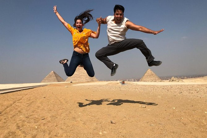 Quad bike adventure with Guided tour to Giza pyramids including camel ride photo 3