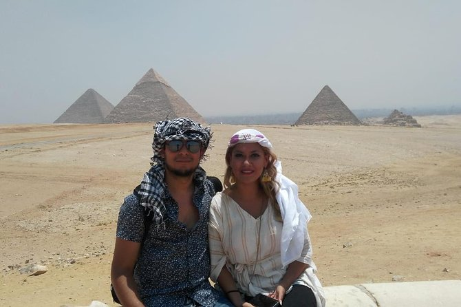 5 hours Experience to Giza pyramids sphinx plus camel cruise lunch on Nile photo 2